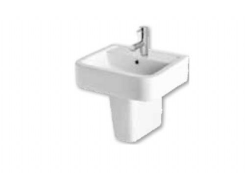 Eastbrook Crowthorne 500mm Basin & Semi Pedestal